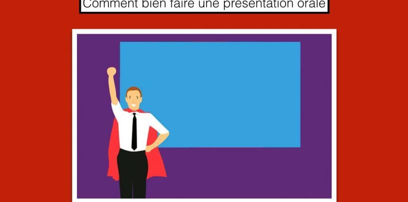 Comment bien faire une présentation orale