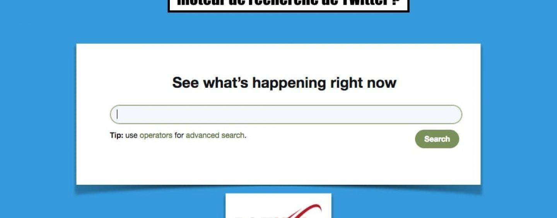 Comment utiliser les fonctions du moteur de recherche de Twitter ?