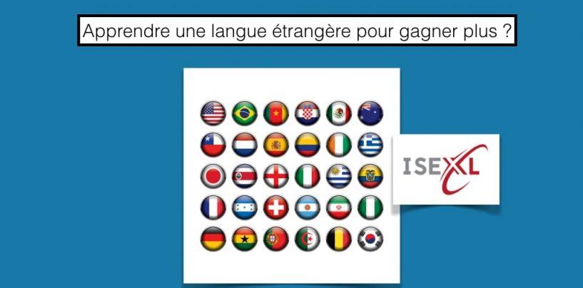 Apprendre une langue étrangère pour gagner plus ?